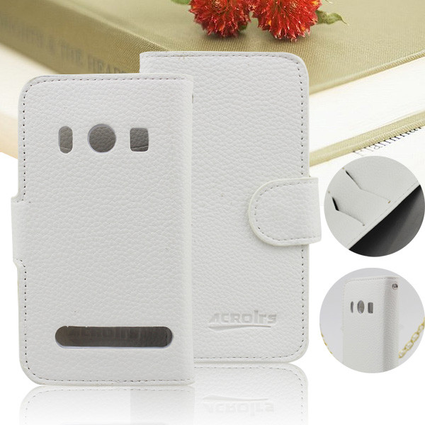 Guangzhou pinjun electronic Flip leather wallet case for htc evo 4g