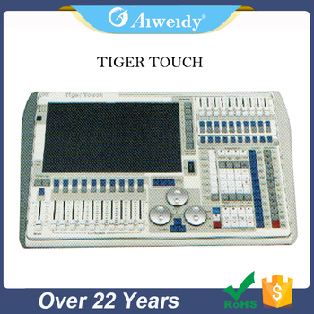 2017 manufacturer touch screen tiger console dmx lighting controller