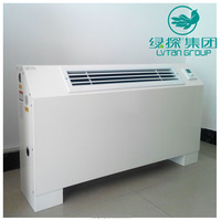 Central air conditioner system fan cooler / chilled water fan coil unit with CE certificate