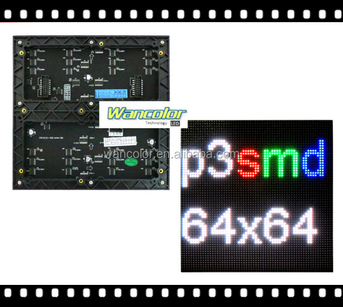 shenzhen factory wholesale price p3 <strong>led</strong> module indoor full color <strong>led</strong> <strong>display</strong> HD 192*192mm price p3 full color <strong>LED</strong> screen module