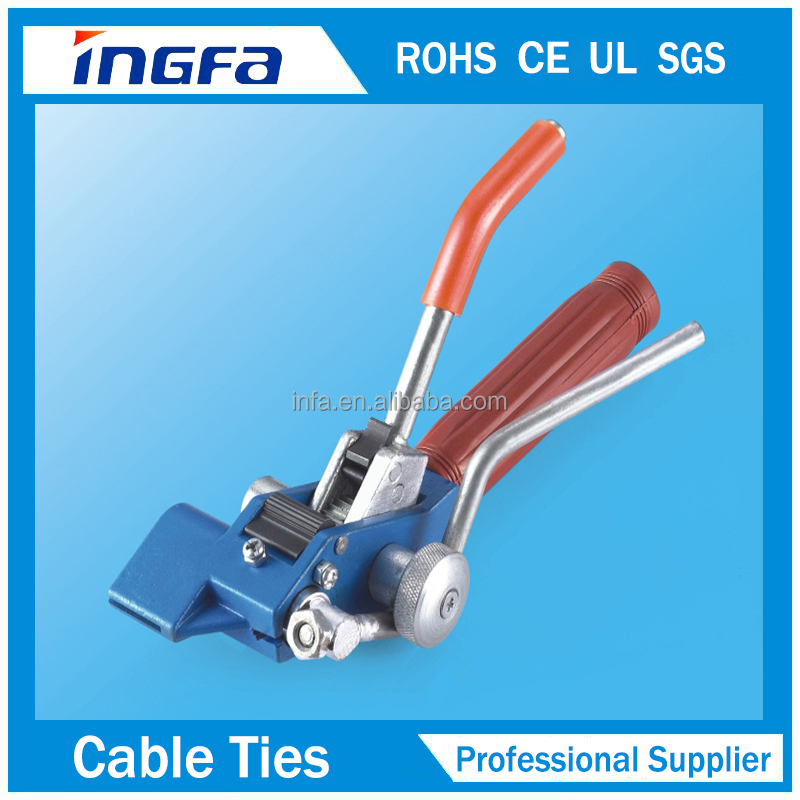 Easy Application LQA Stengthen Stainless Steel Cable Tie Tool