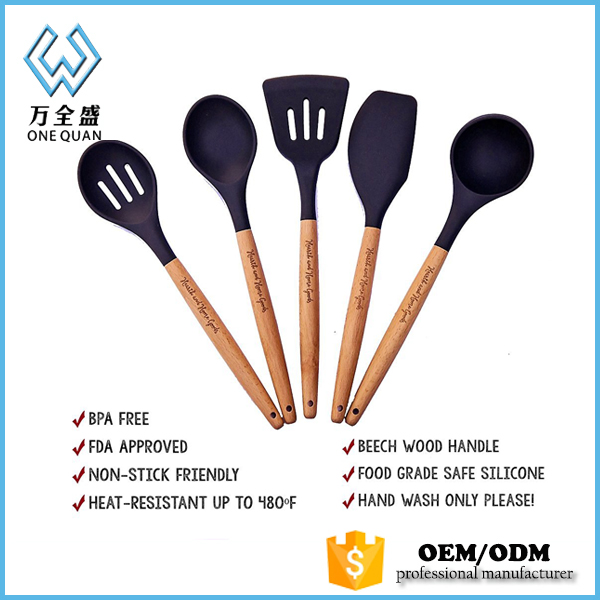 China wholesale suppliers kitchen cabinets/silicone cooking ware