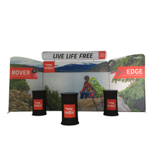 Magnetic Display Used Pipe And Drape Round For Sale Polyester Banner High Quality Durable Tradeshow Display Booth