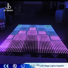 Guangzhou Manufacture Supply Make Night Club Seoul Led Dance Floor With 27 Channels