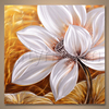 2016 Popular Decoration Flower Aluminum Metal Art Print Painting