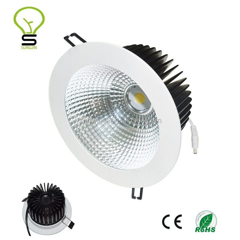 40w 50w 4500lumen cob 8 inch dimmable led retrofit recessed <strong>downlight</strong>