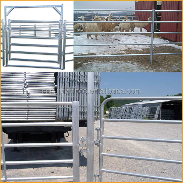 Hot sale high quality livestock metal fence panels
