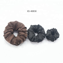 Satin Hair Donut Bun Nylon Magic Hair Ring Bun Former Shaper
