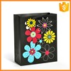 Wholesale Factory Made Colorful Print Flower Pattern Paper Bag