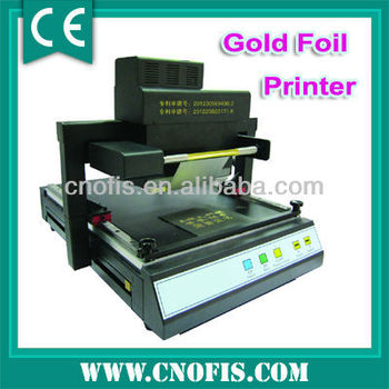 Best 219 hot digital foil printing machine printer