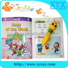 Promotional OEM supported music digital reading pen DC009 for kids