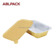 Disposable to go Aluminum Foil Sealing Food Containers