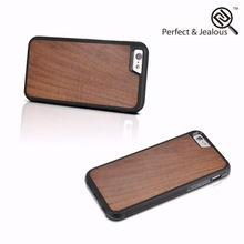 2015 hot sale Natural wood for iphone 6 case with stone
