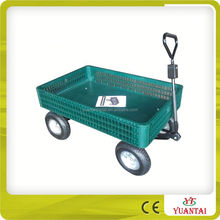 Moving Garden Cart With 4 Wheels TC1858
