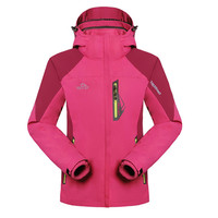 2016 outdoor new design windproof waterproof without hood jacket
