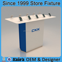 100% high quality cellphone store display fixture