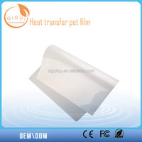 Transparent Inkjet Matte Pet Film for Silky Screen Printing/Pet Film