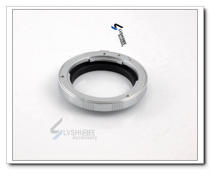 Adapter ring for Pentax lens to the Olympus OM camera