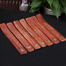 India Thailand style Home incense burner Wood plate for incense stick burning