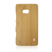 Accepted customize logo bamboo cell phone case for Nokia 930,upper and lower card wood case for Nokia