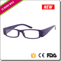 LED Night Reading Eye Glasses With LED Light Night Bedtime Spectacles