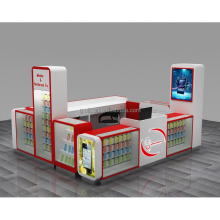 Direct factory sale mall cell phone repair kiosk for sale