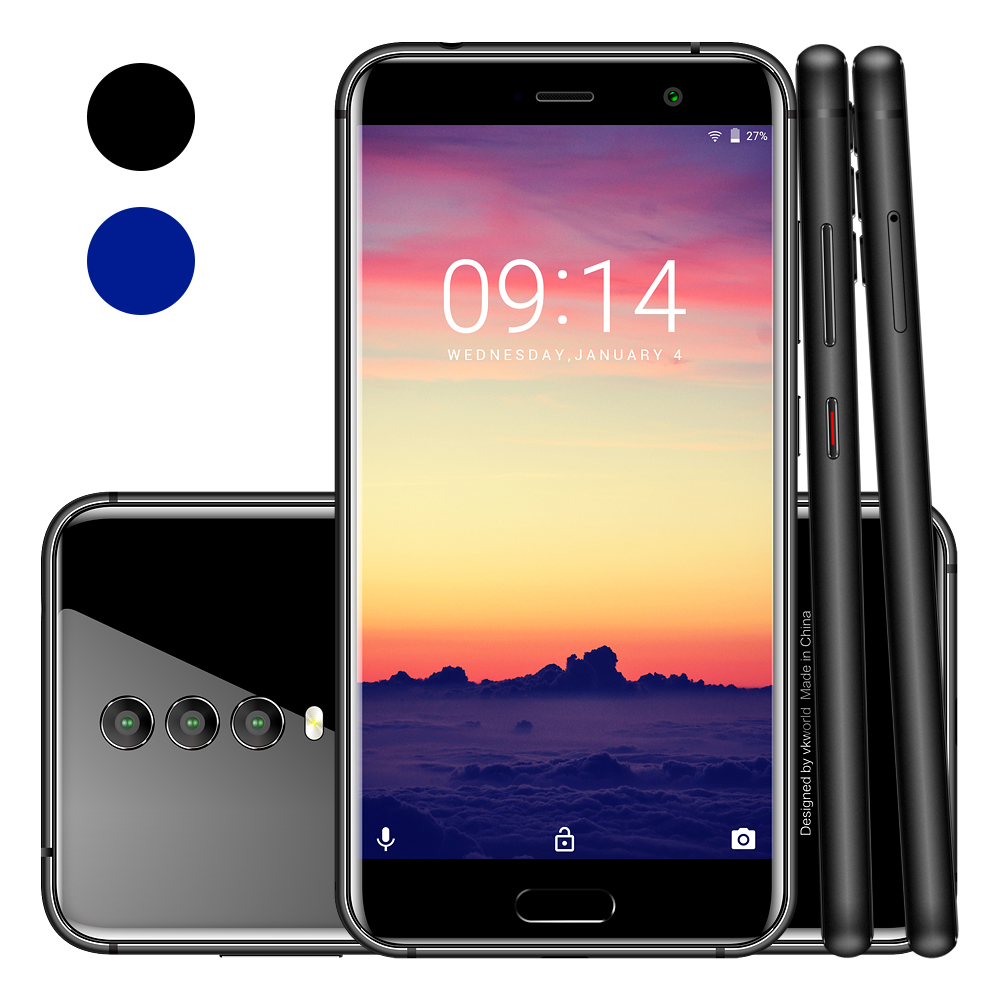 New Online Shopping India vkworld K1 5.2 inch FHD ROM64G 4040mAh Battery Android 8.1 Mobile Phones 4G Android 8.1