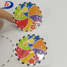 OEM Factory Printing Gum Strong Adhesive Laminated Custom Art Paper Sticker