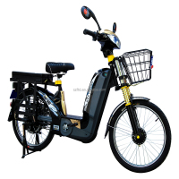 popular 48V 350W strong power electric motorcycle / classic 2 wheel scooter/electric bike- MILG