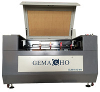 GEMACHO CO2 Laser Cutting Machine (with 4 Heads) GLM1610-4H (CE)