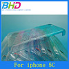 plastic case 3D raindrop case for iphone 5c