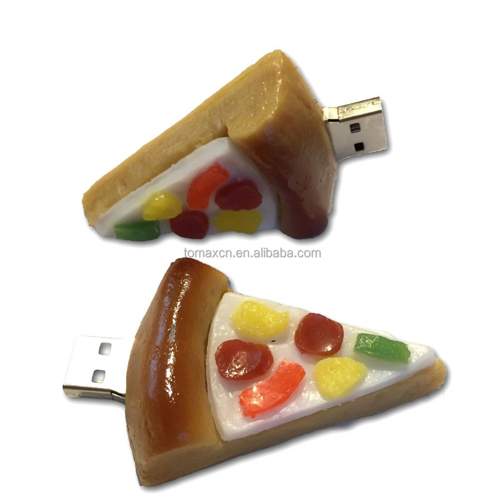 Alibaba china Free shipping 8G 16G 32G 64G Pizza USB <strong>flash</strong>