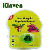 Outdoor equipment citronella/lemon/geraniol silicone mosquito repellent bracelet
