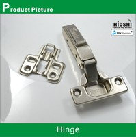 One way invisible hinge