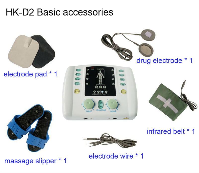 Physical therapy equipment low frequency electrical stimulation physical therapy