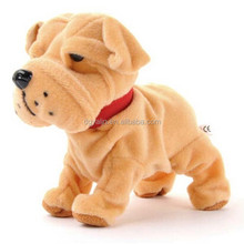 Electronic Pet Voice Control Interactive Robotic Puppy dog Cute Bulldog Plush Toys