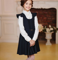 Customized Fashionable Youth School Uniform school girls sex uniform children dresses