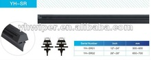 windshield wiper rubber refill