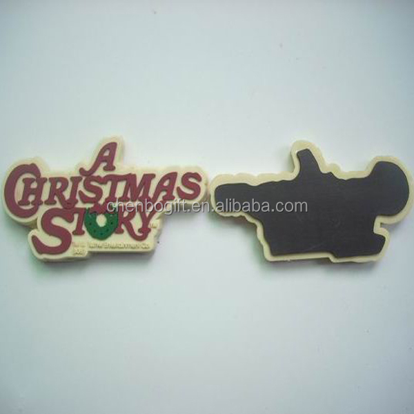 Custom make printed your logo soft rubber pvc fridge magnets