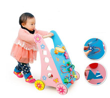 hotsale wooden multi-purpose baby walker for baby gift