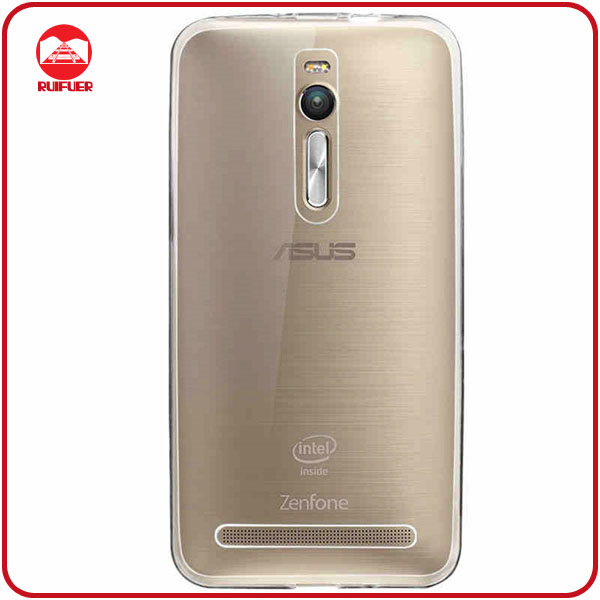 Factory Supply Transparent Ultra Thin TPU Cover Case for ASUS ZenFone 2