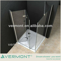 Hinge openning shower door
