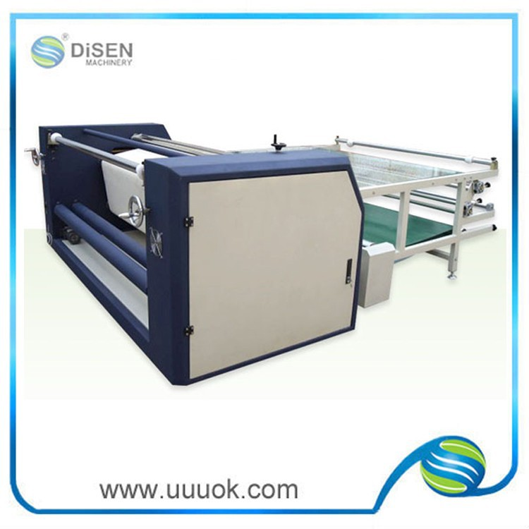 Sublimation heat transfer roller printing machinery for textiles