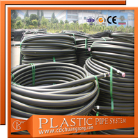 HDPE PE100 Gas Supply HDPE Pipe Standard Length