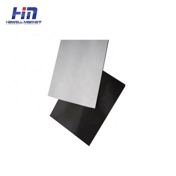 High quality flexible rubber magnet magnetic tape