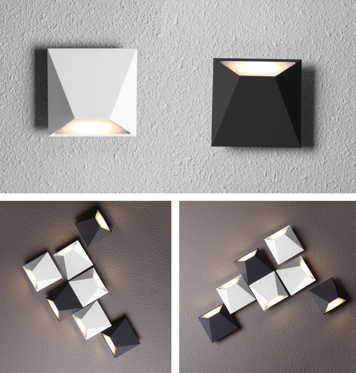 L4u METEOROLITE Exclusive Design Free Combination LED Modern Wall Sconce Decorative Light for Home Decor Hotel