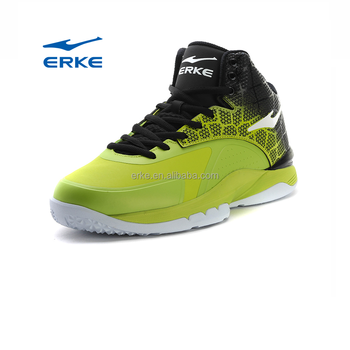 ERKE wholesale high quality brand sports mens basketball shoes high ankle boots
