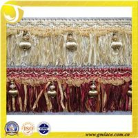 Elegant Fashion Wholesale Rayon Brush Fringe Trimming for Sofa