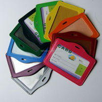 Colorful Customized Pvc And Leather ID
