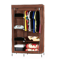 High quality storage folding wardrobe home cloth bedroom wardrobe DIY fabric wardrobe